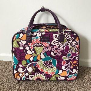 Vera Bradley Rolling Work / Travel Bag